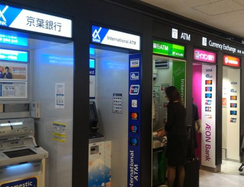 ATMs at Narita Airport