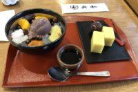 Sweets at Funawa café